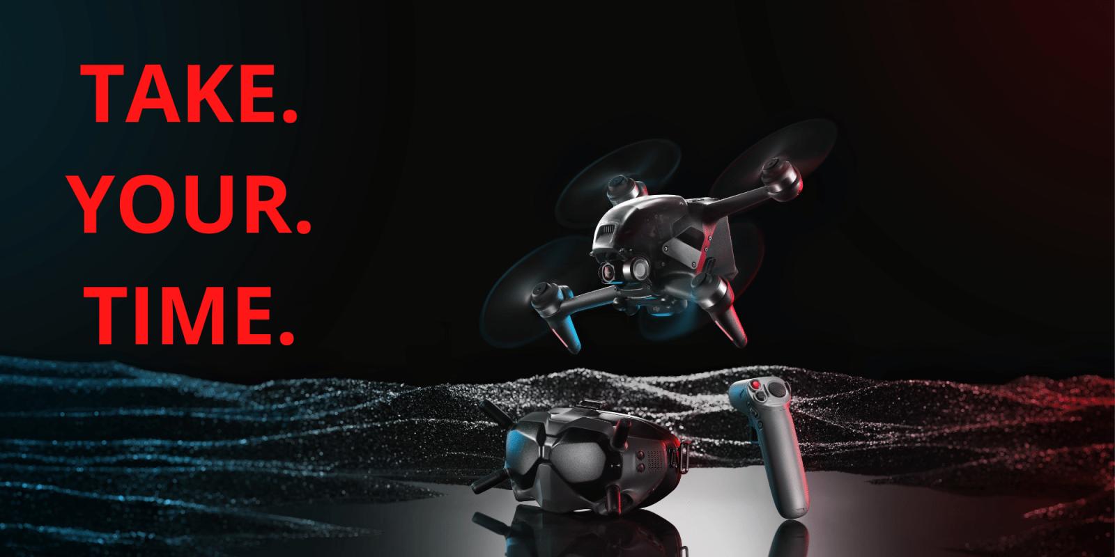 Prenditi il tuo tempo prima di far volare il drone FPV di DJI in modalità M (acro)
