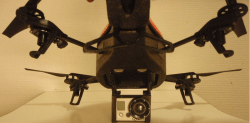 GoPro Mount on AR Drone