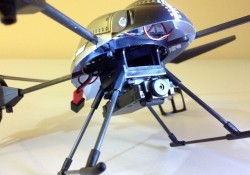 V959 with Camera and landing skids
