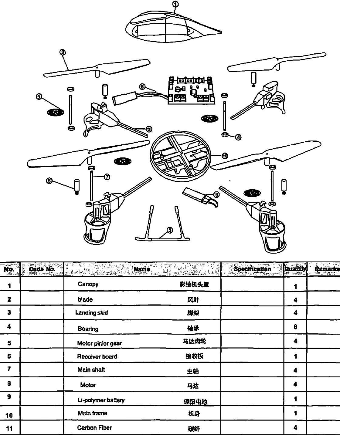 Review- Wltoys V959 2 4g 4-axis 4ch Rc Quadcopter With Camera