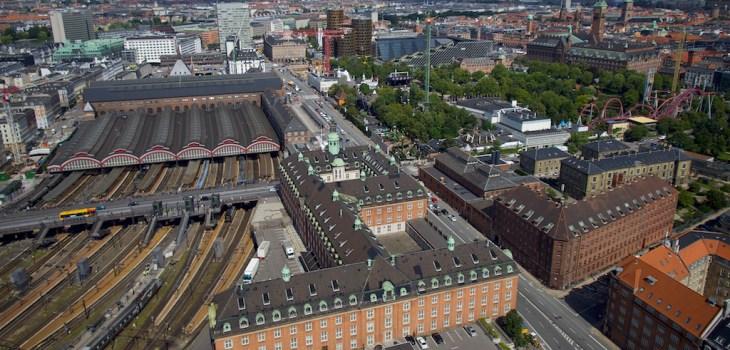 Dronefoto taget af Dronefyn for kunde i københavn