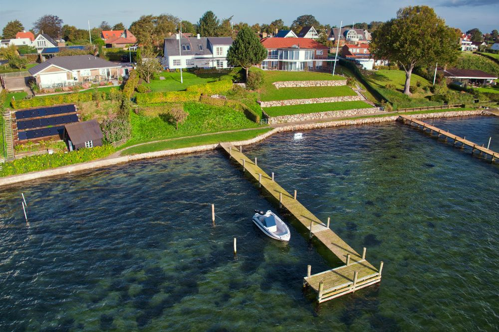Ejendom Thurø Drone Foto