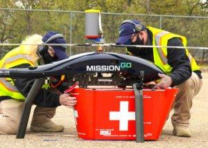 drones for organ transplant