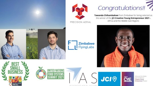 Drone crush of the Week: Zimbabwe Flying Labs and Integrated Aerial Systems