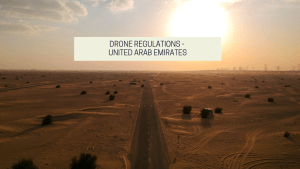 United arab emirate drone regulations - can you fly a drone in the UAE? Drone photography bible - aerial photograph of a desert in the UAE