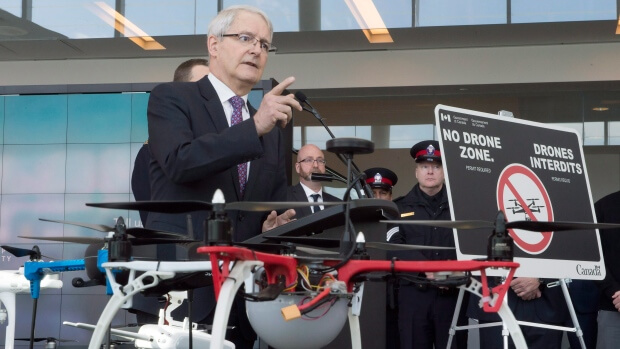 DJI Disapproves of Draft Canadian Drone Regulations