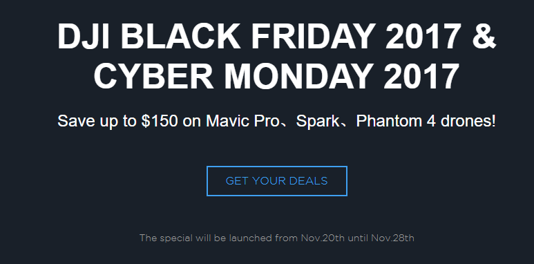 DJI Black Friday Deals For USA Released