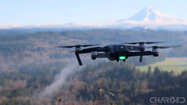 DJI Mavic Pro flying mountain featured ch