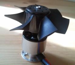 Propeller on Motor