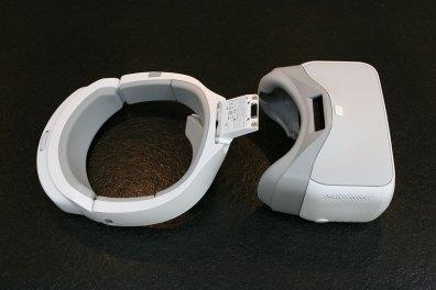 DJI Goggles bestehend aus Kopfband und Brille