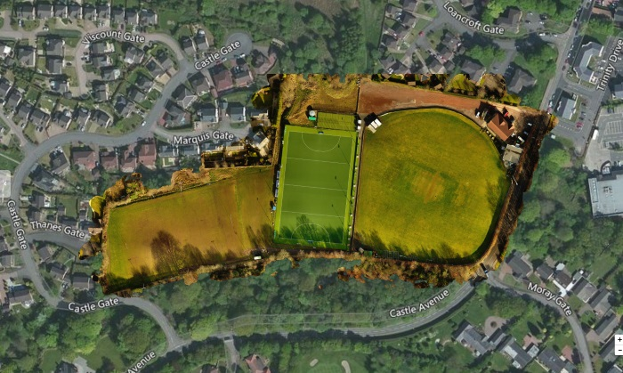 2D Mapping of Sports facility   Drone Scotland 2D Mapping   Drone Scotland