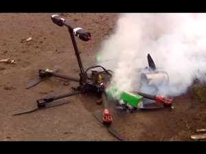HOW TO BUILD YOUR OWN DRONE drone crash