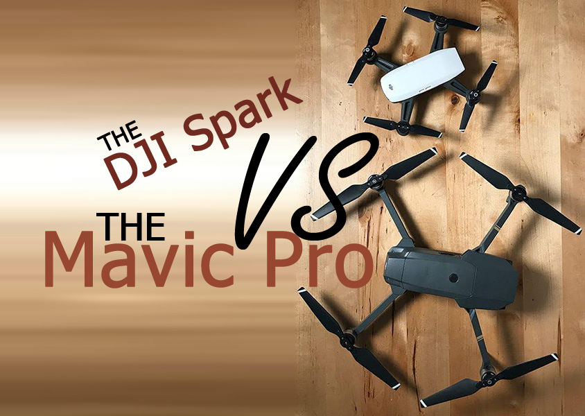 dji spark vs dji mavic vs phantom 4