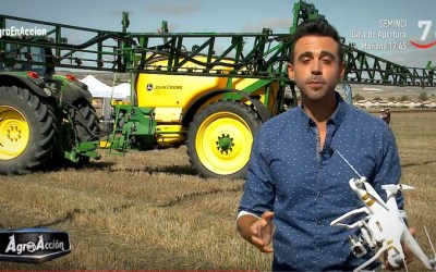 DroneWorld y Caja Rural en Agro en Acción