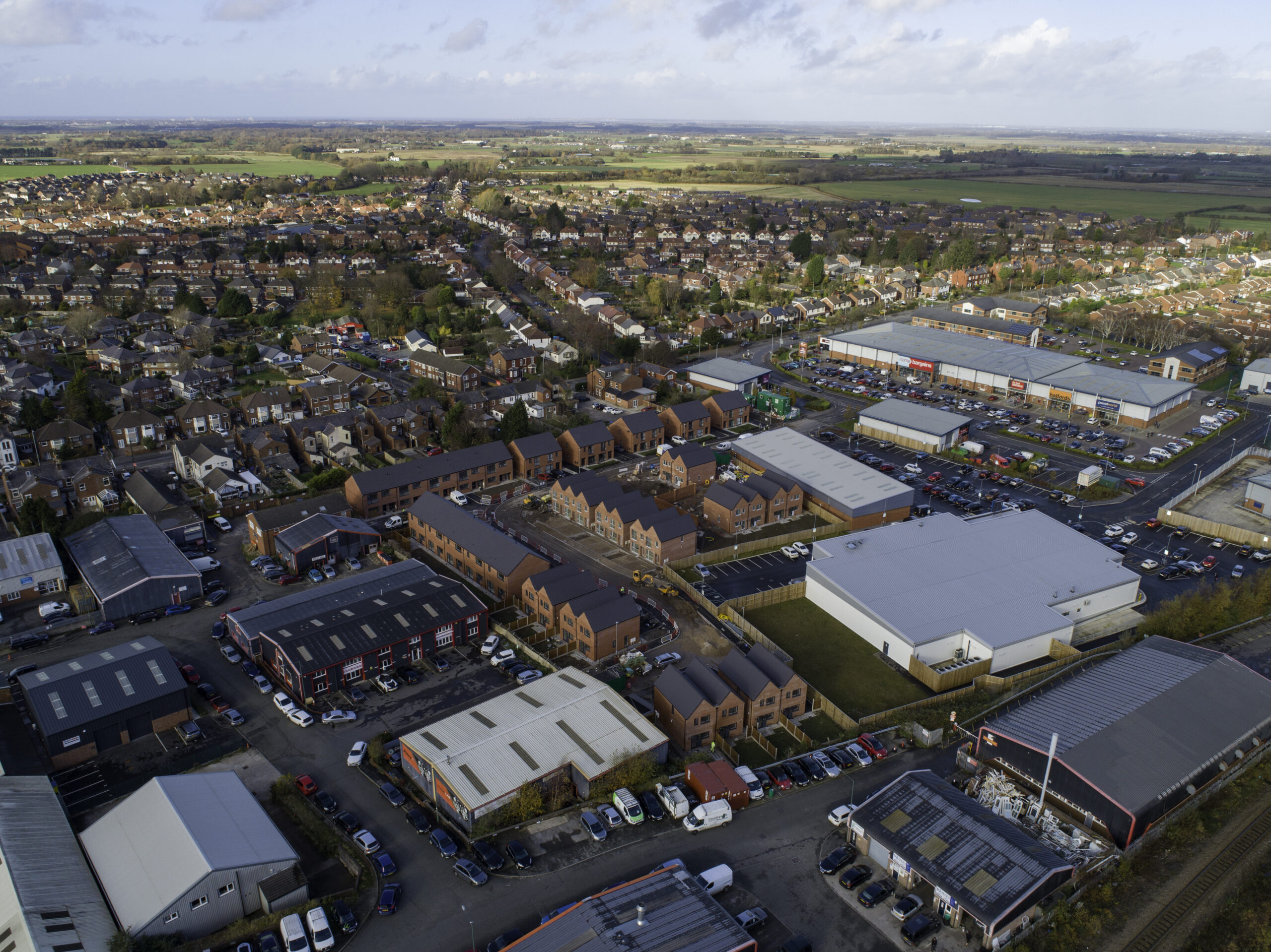 drone your... Ormskirk site