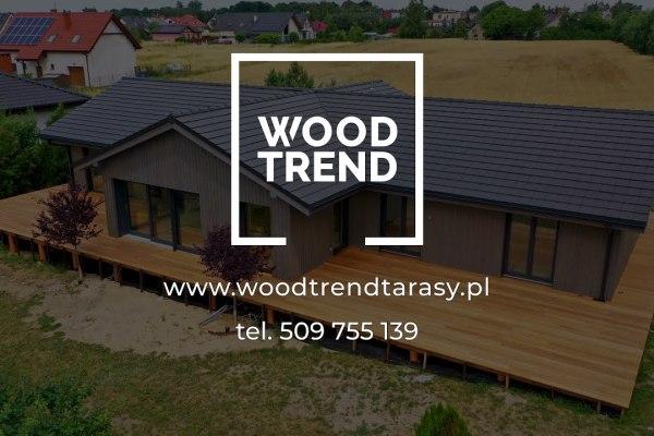 WoodTrend tarasy filmowanie dronem