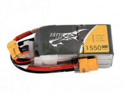 Gens Ace & TATTU: 1550mAh 11.1V 75C TATTU Gens Ace