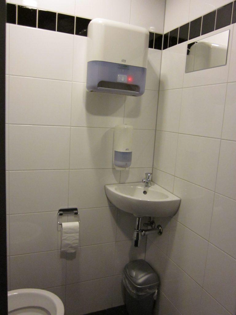 Volledig automatische handdoek dispenser
