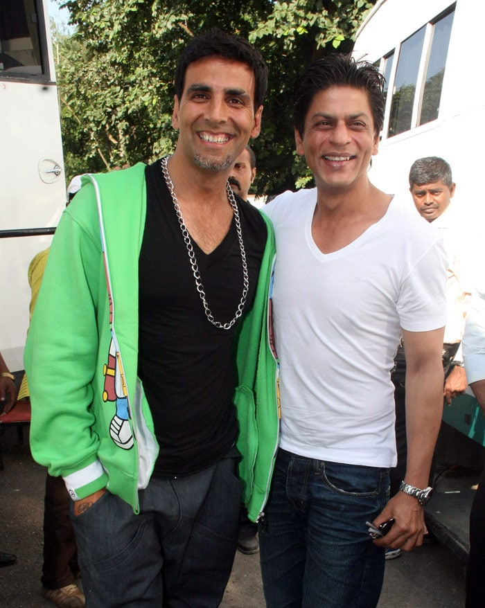 Image result for shahrukh akshay