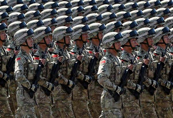 5 Pics: China Flexes Military Muscle in Grand Parade ...