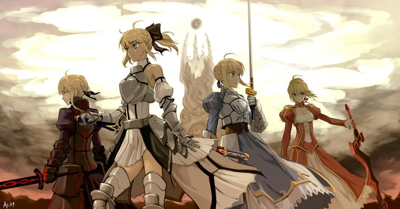 animes inspirados em jogos dropando ideias fate