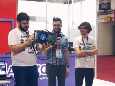 COMO FOI A BRASIL GAME SHOW 2017 SOBRE GAMES, FEIRAS E AMIGOS dropando ideias leticinios 1
