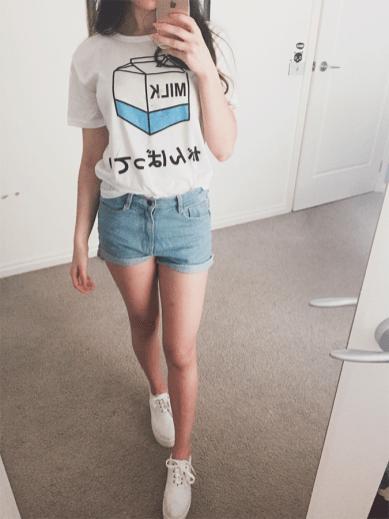 Wishlist as tshirts coreanas mais fofas da internet dropando ideias 2