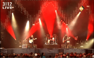 Band Of Skulls Lowlands Festival 2010