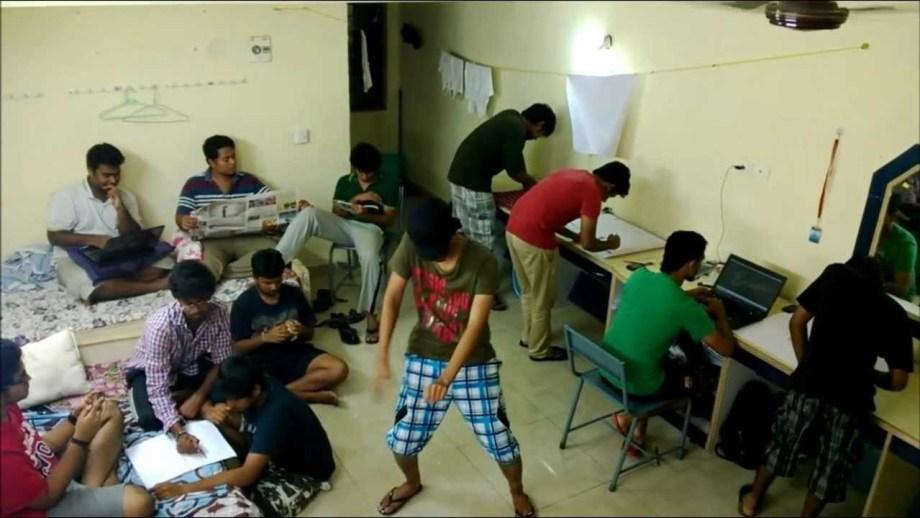 Indian Hostel Life Friends
