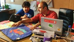 Rajat Tuli at Happily Unmarried Office Okhla