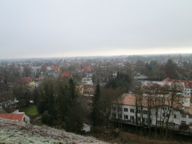View of Dachau from the palace