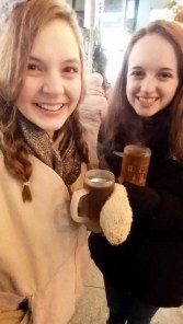 Cider at the Christmas market