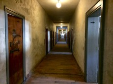 """The original barrack that housed the """"special"""" prisoners."""