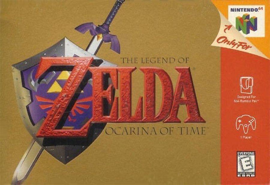 The Legend of Zelda Ocarina of Time foi lançado na América há 21 ...