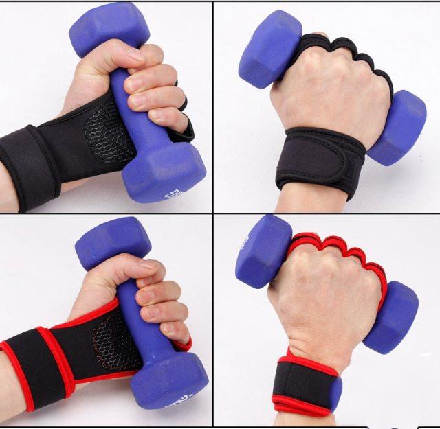 Men's Fitness Half Finger Gloves