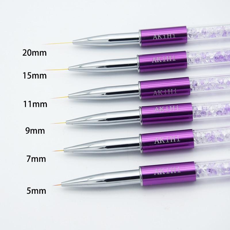 5-20 mm Crystal Nail Art Brush