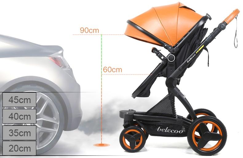 Baby's Folding Stroller with Aluminum Frame