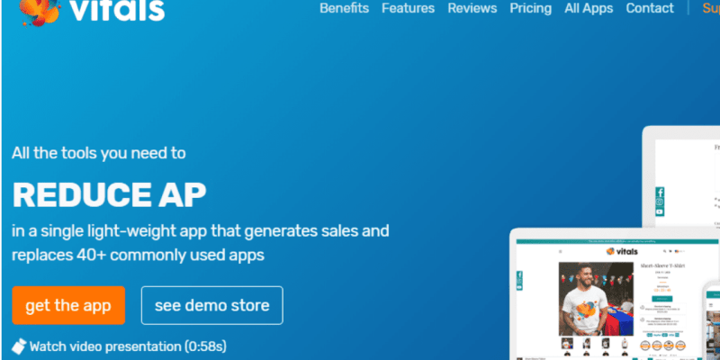 VITALSReplaces 40+ Apps Commonly Used On Shopify