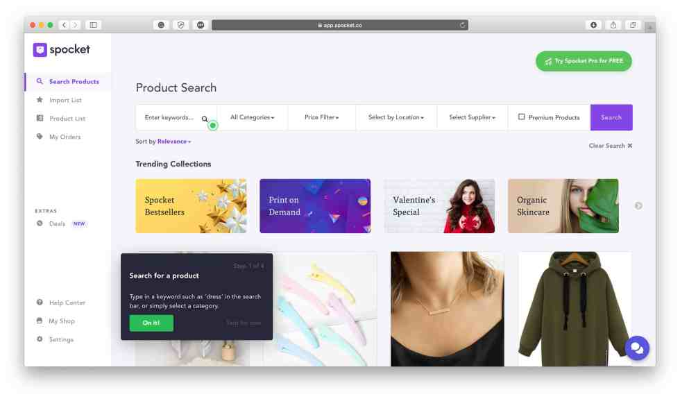 spocket products