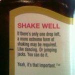 Shake it Like a Steak Sauce
