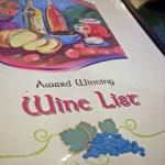 Best Wine List Ever