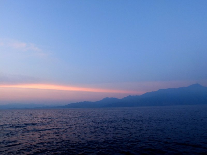 Day 4 dawns: First light over Timor-Leste