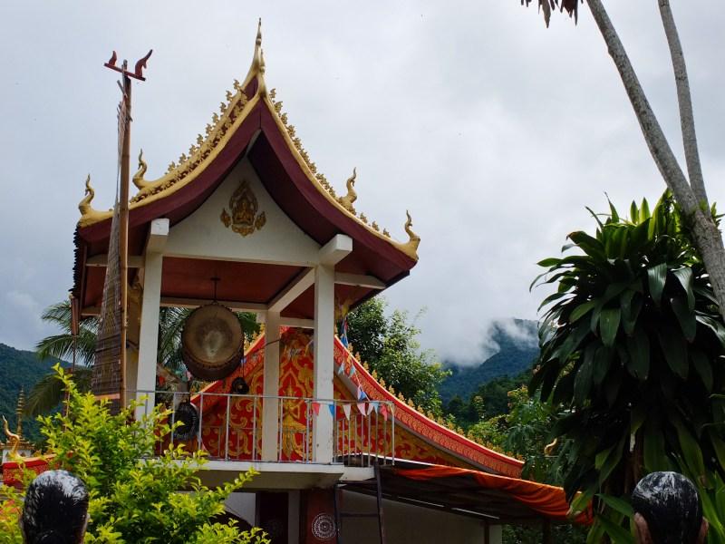 Muang La's Buddhist temple