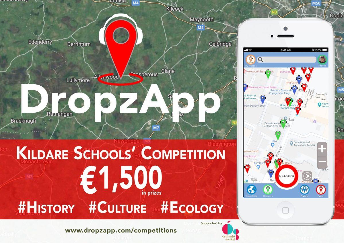 DropzApp Kildare Schools Crinniú na nÓg competition