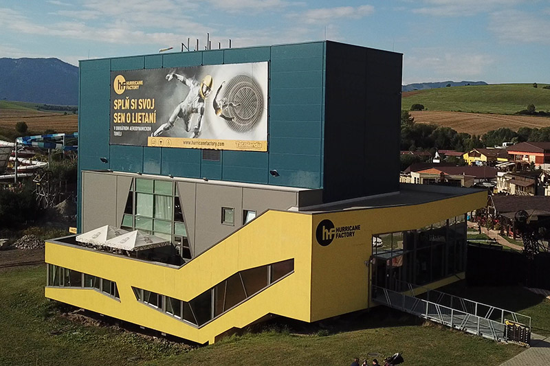 Hurricane Factory Tatralandia