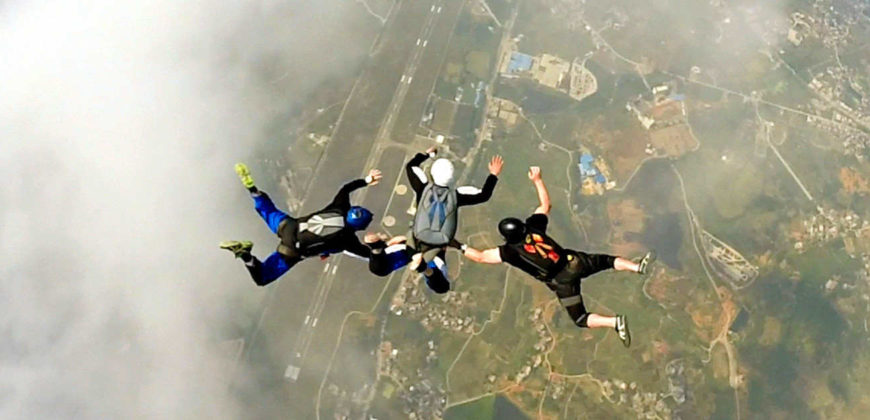 China Skydivers – Yingfei