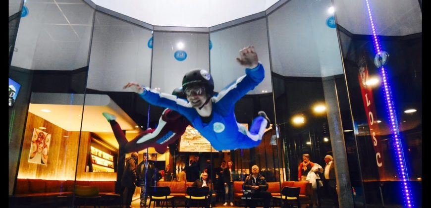 Ice Mountain Indoor Skydiving