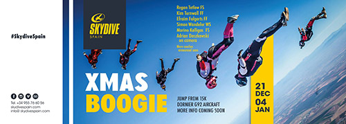 Top 7 X-Mas Skydiving Boogies