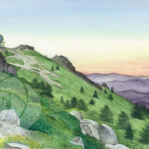 Mt. Ashland at Sunrise by Danielle Rose