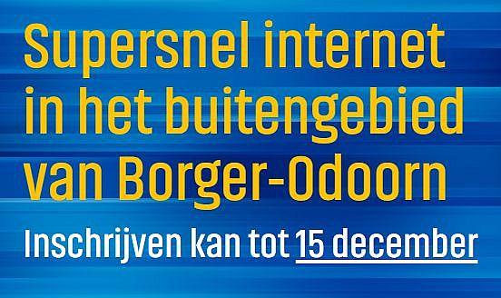 Extra glasvezel inschrijf- en informatieavond Drouwenerveen #javoorglasvezel